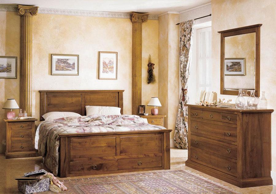 camere da letto stile classico - Camera Da Letto Stile Country